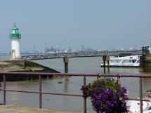 Le port de Mindin face à Saint-Nazaire