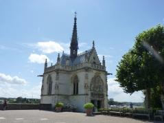 château royal d'Amboise : la chapelle Saint-Hubert